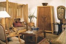 Rattan & Bamboo Furniture Collection