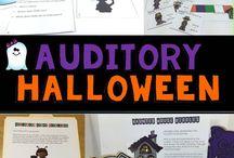 Halloween Activities / Exploring speech and language ideas for Halloween.