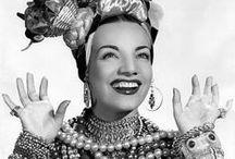Carmen Miranda / Fotos de Carmen Miranda e sua baiana estilizada