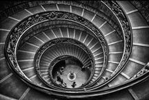 Staircases - Why are they so curious??? / Scale, scalinate... Stairs, staircases, starewells...