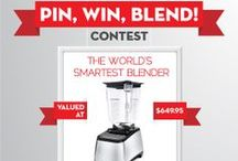 "Pin, Win, Blend! / CONTEST RUNS 3/31/14 - 5/1/14. Thanks to our friends at Blendtec, we are giving one lucky winner a Blendtec Designer 725, valued at $650! TO WIN 1. Follow KnowMore TV on Pinterest 2. Create a Pinterest board called ""Pin, Win, Blend"" 3. From this board, repin the Blendtec Designer 750 and a minimum of 4 recipes you'd like to try if you win. 4. Click the 1st pin on this board to enter. You must include a link to your 'Pin, Win, Blend' board.  / by KnowMore TV"