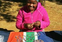 Community of Beaders making our Bracelets / Hand-made by previously unemployed women in a rural community in SA, our cause-related bracelets support local employment as well as raising funds for various beneficiaries.