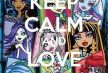 Monster High / We R Monsters, We R Proud.   We Monsters, Say it LOUD / by Jeannette Chau
