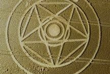 Crop circles & stuff / The mysterious, the hidden, the unexplained and the disclosed. Make up your own mind... / by Tui Curry