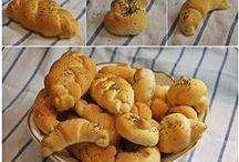 Pečivo / Chleba,dalamánky,rohlíky......