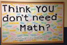 EMW - Math bulletin board ideas