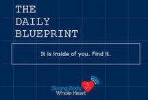 SBWH Daily Blueprint / Love the Daily Blueprint? Get inspiration directly to your inbox! Sign up here: http://strongbodywholeheart.com/daily-blueprint/