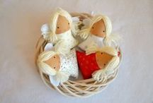 Handmade By Me / Moja tvorba / Great baby toys,  gift ideas and much more