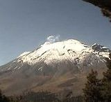 Actividad Volcán Popocatépetl