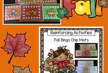 Fall / Exploring speech and language ideas for fall.