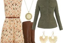 Autumn Fashion / Outfit ideas for you, so you can look the part