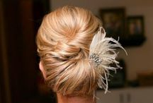 wedding mode on / wedding, gown, dress, hairstyle, decorations