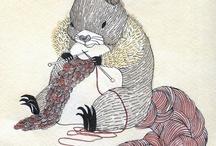 I knit/crochet / by Francoise Larouche