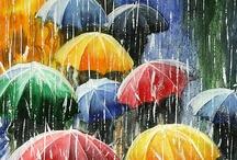 I Love the Rain . . . ☔️ / by Wanda Parsons