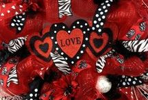 HOLIDAY- BE MY VALENTINE <3 / Valentines Day decor,  treats, goodies and gift ideas