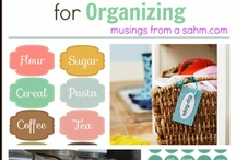 Organize me!  Please! / by Sue Peterson