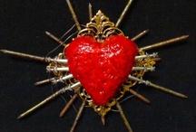 Sacred heart ~ Sagrado Corazon / by Di Hernandez