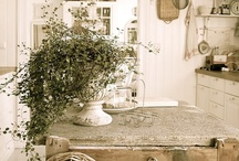 Kitchens  - old and new!