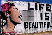 Because Life is Beautiful. / Occasionally I find the human form beautiful and inspiring. If you find this offensive, then do not follow this board.