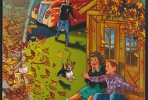 My book 3: Ferocious Fall / Ferocious Fall: Our Wild Weather Escapes is book three in my 1950s four book series for eight and up. Available at www.cahartnell.com