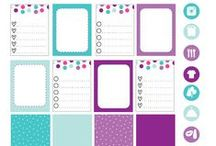 Planner Printables / Printables for decorating your planners. Pinning blogging planners, household planners, homeschooling planners, and more on my Printable Planners board. For decorating inspiration, check out my Pretty Planners and Planner Decoratives boards. / by Vicki Arnold