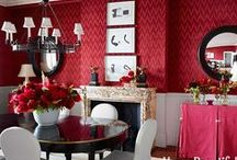 Red Themed Rooms / by Lutron Electronics