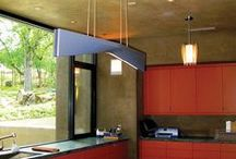 Orange Themed Rooms / Go citrus chic with the warmth of orange. / by Lutron Electronics
