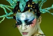 Incredible Body & Face Artistry / Capturing images of amazing make up and body painting.