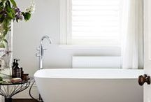 spaces: bathrooms / I believe that the kitchen and the bathroom are the mirror of a home. / by Ada | Classiq