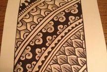 Tangledoodledoo / Zentangle Doodle etc. / by Hannah Grenade