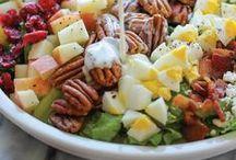 Food: Salad / A variety of salad recipes