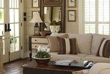 Decor:  Family & Living Room / Family room decor and ideas.