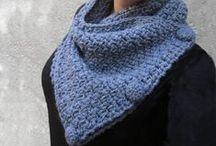 Crochet winter wearables