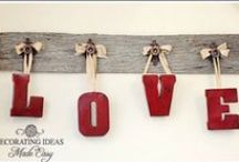 DIY & Crafts: Valentines Day / A variety of Valentines Day crafts, DIYs, and gift ideas.