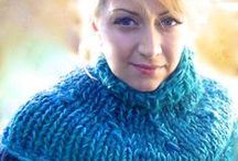 I create / Knit and crochet winter accessories / by Francoise Larouche