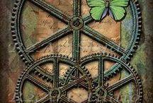 Steampunk Ephemera / Victorian era fantasy