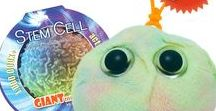 Stem Cell / The miraculous stem cell is the body's dreamer – it can grow up to be whatever it wants to be. GIANTmicrobes are plush stuffed animals that look like tiny microbes - only a million times actual size! Gag and geek gifts, science, microbiology and biology toys for students, teachers, scientists, nurses and doctors - each coming with an image and information about the real microbe it represents. They make great educational learning tools as well as amusing gifts for anyone with a sense of humor.