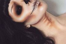 Halloween / Make-up tutorials to do with Halloween/ Costumes.