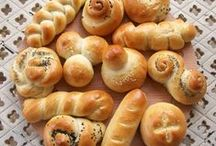 BREADS: YEAST; VARIETY / BREAKFAST ROLLS, BREADS WITH CHEESE, BREADS WITH OTHER ADDITIONS LIKE HERBS AND FRUITS / by Linda Bloise