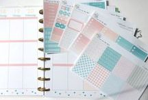 my onlineshop - meyouDesign on etsy / pretty planner stickers for erin condren or happy planner and every other planner