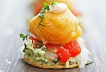 Hors d'Oeuvres / Some fun and wonderul hors d'oeuvres ideas as well as some tried and true!