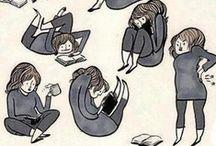 Leer, leer y leer. / Escribir es vivir.