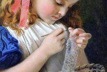 Crochet lace / by idu adachi