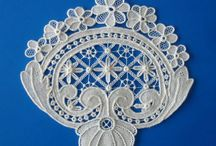 Needlepoint lace