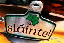 All Things Irish! / Get shamrocks on personalized beer mugs, pub glasses, buckets, pails and bottle openers. If you're headed to a St. Patty's Day party, bring an Irish gift basket for the host!