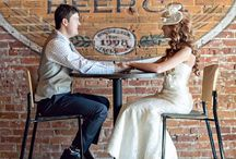 Beercentric Weddings / Beer and marriage go together like a horse and carriage. Can't have one without the other!