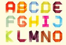 typography / font / alphabet