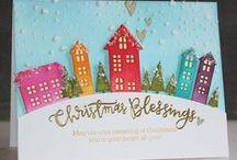 Cartes de voeux / Jolies idées pour la fabrication de cartes de voeux pour les fêtes de fin d'année.