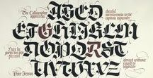 ❧ Calligraphy / The art of handwriting. Ink, pens, nibs and brushes.