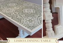 My Finished Projects / Here are some of my finished projects, all done with Annie Sloan chalk paint.